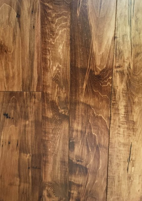 New 1 Common and Better Ambrosia Wormy Maple with Micro bevel and Early American Stain