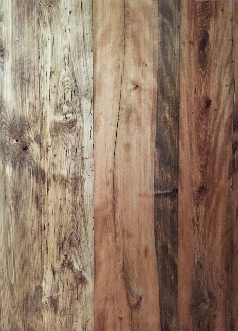 Reclaimed Re-sawn Beech with Early American Stain