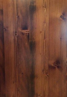 Reclaimed Re-sawn Dougas Fir with Early American stain