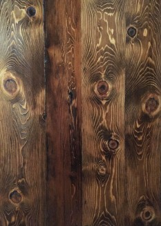 Reclaimed Re-sawn Hemlock with Early American Stain