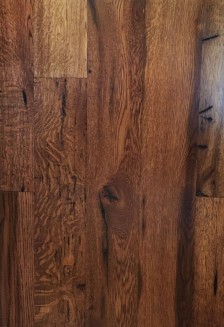 Reclaimed Re-sawn Oak with Early American Stain