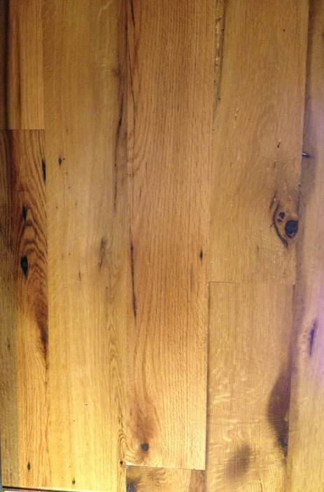Reclaimed Re-sawn Oak